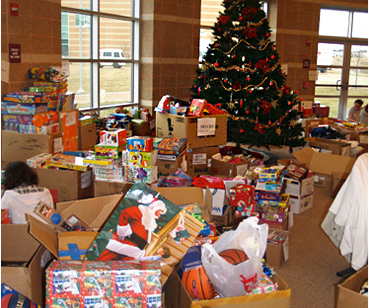 Adopt-a-Family Christmas gifts